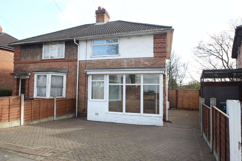 3 Bedrooms Semi Detached House for sale in Dagnall Road, Birmingham