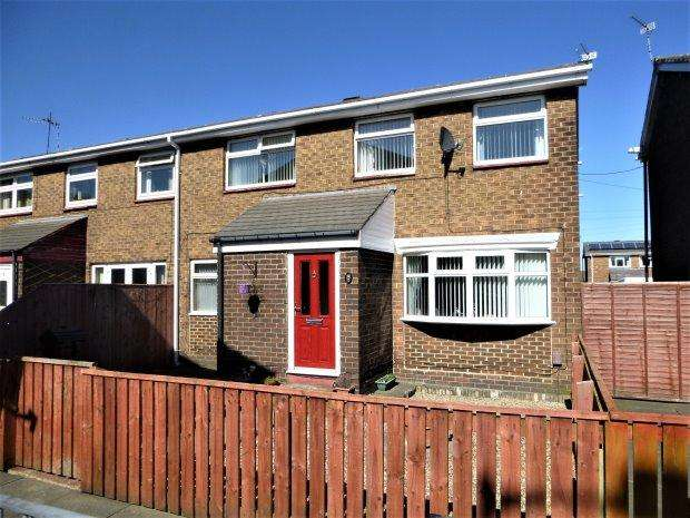 4 Bedrooms Semi Detached House for sale in RUNNYMEDE WAY, REDHOUSE, SUNDERLAND SOUTH