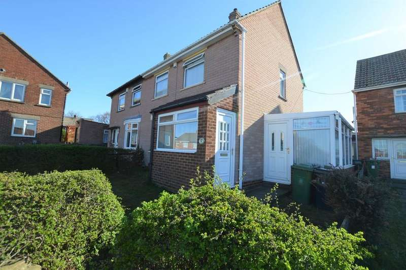 2 Bedrooms Semi Detached House for sale in Garth Crescent, Winlaton
