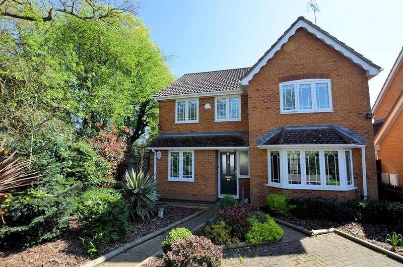 4 Bedrooms Detached House for sale in Vicarage Wood Way, Tilehurst, Reading