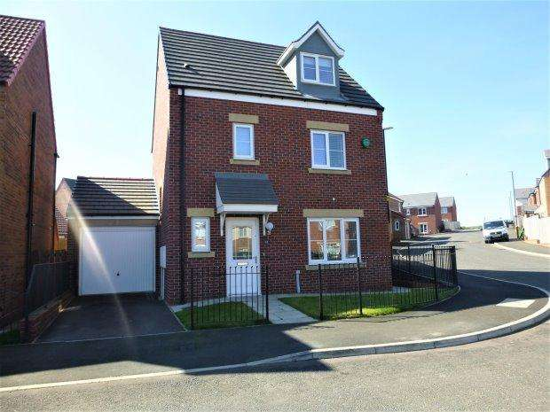 4 Bedrooms Detached House for sale in WOODHAM DRIVE, RYHOPE, SUNDERLAND SOUTH