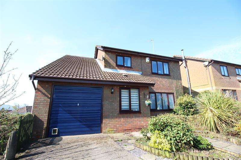 4 Bedrooms Detached House for sale in Coed Gethin, Caerphilly
