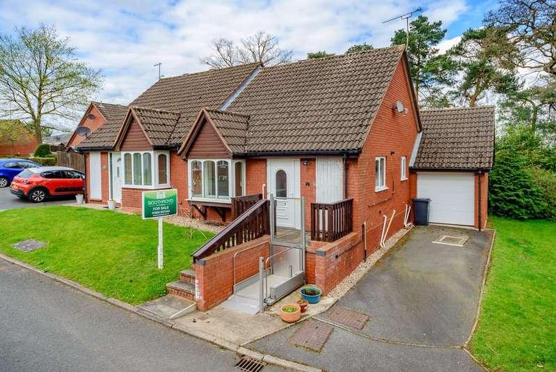 2 Bedrooms Semi Detached Bungalow for sale in Willowmeer, Kenilworth