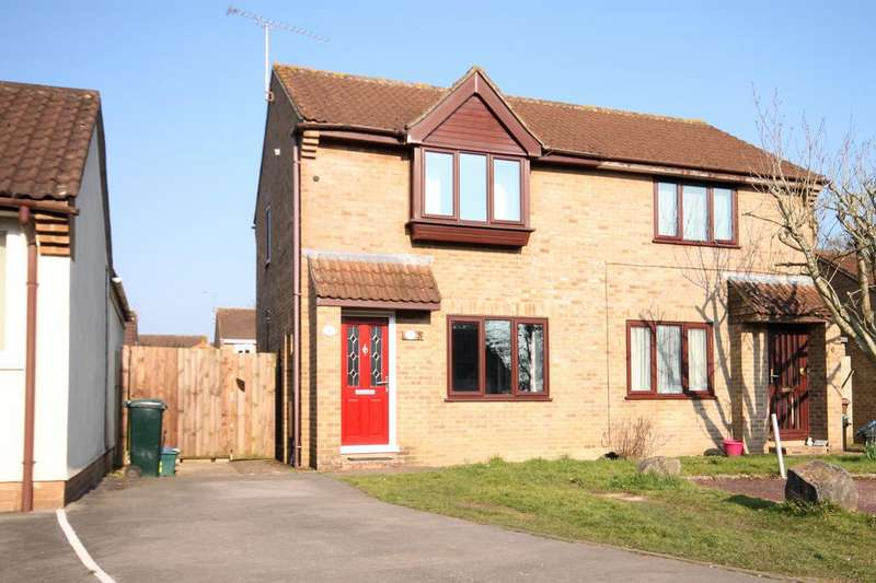 2 Bedrooms Semi Detached House for sale in Lime Crescent, Willand, Cullompton EX15