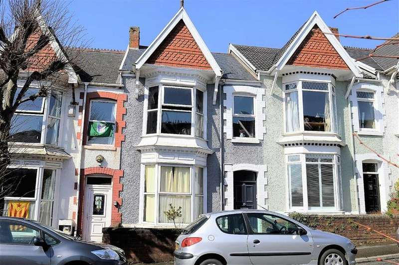 2 Bedrooms Terraced House for sale in Ernald Place, Swansea, SA2