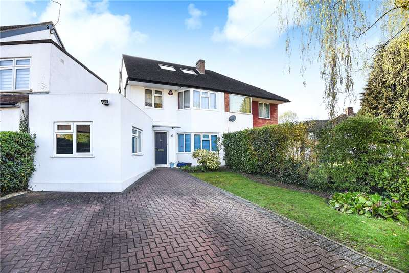 4 Bedrooms Semi Detached House for sale in Silverston Way, Stanmore, Middlesex, HA7