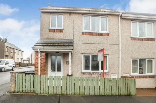 3 Bedrooms End Of Terrace House for sale in Lindow Street, Frizington, Cumbria