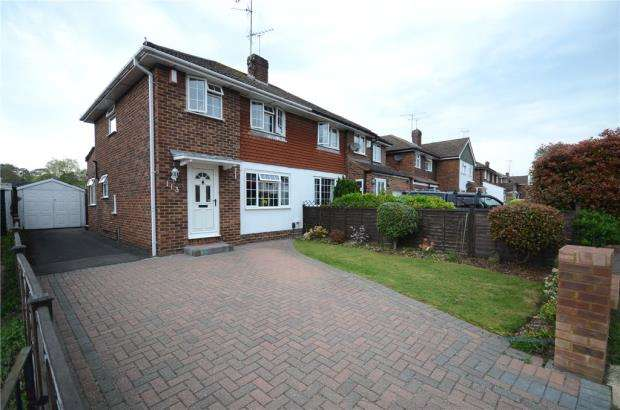 2 Bedrooms Semi Detached House for sale in Nightingale Road, Woodley, Reading