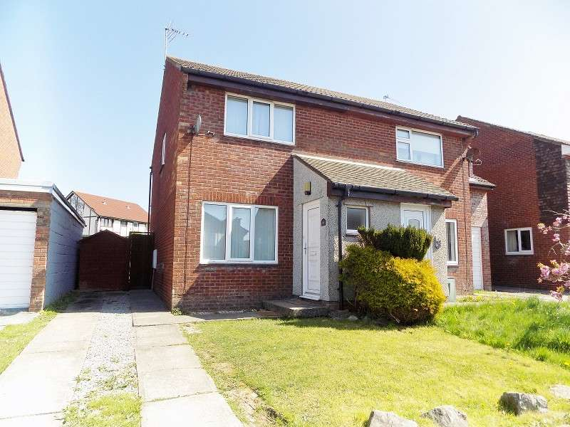 2 Bedrooms Semi Detached House for sale in The Spinney , Brackla, Bridgend. CF31 2JE