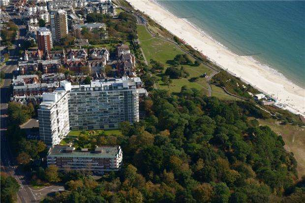 3 Bedrooms Flat for sale in West Cliff Road, Bournemouth, Dorset, BH2