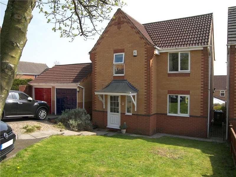 3 Bedrooms Detached House for sale in Findern Close, Belper, Derbyshire, DE56