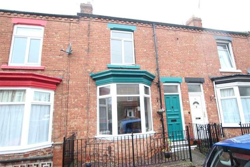 2 Bedrooms Terraced House for sale in Hazel Avenue, Darlington