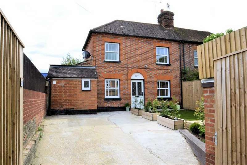 2 Bedrooms Semi Detached House for sale in Gosbrook Road, Caversham, Reading