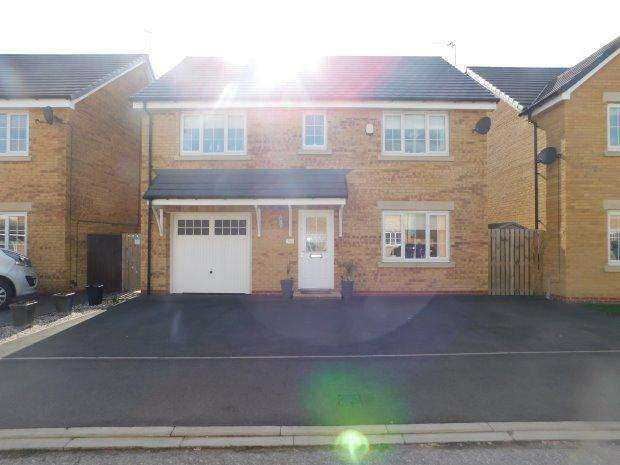 4 Bedrooms Detached House for sale in CLEMENT WAY, WILLINGTON, BISHOP AUCKLAND
