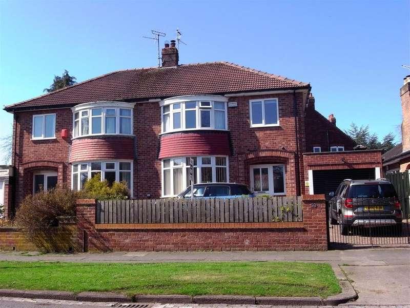 3 Bedrooms Semi Detached House for sale in Elton Road, Darlington