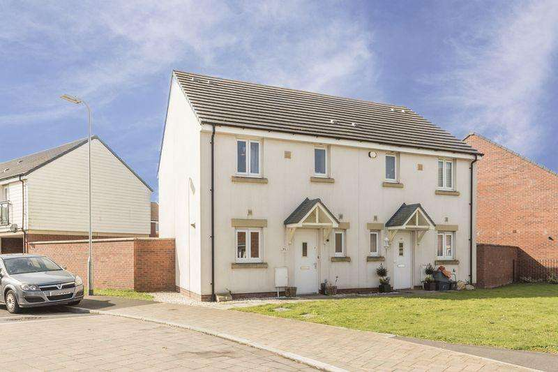 3 Bedrooms Semi Detached House for sale in Bloomery Circle, Newport - REF# 00004131