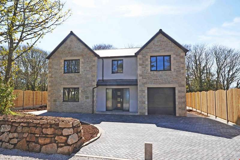 4 Bedrooms Detached House for sale in Perran Downs, Goldsithney, Nr. Marazion, Cornwall, TR20