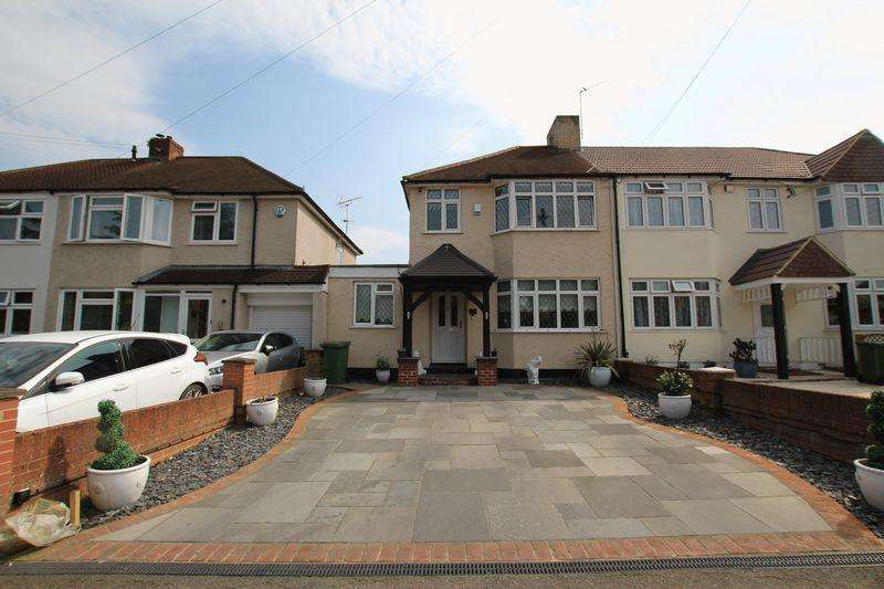 3 Bedrooms End Of Terrace House for sale in College Road, Hextable