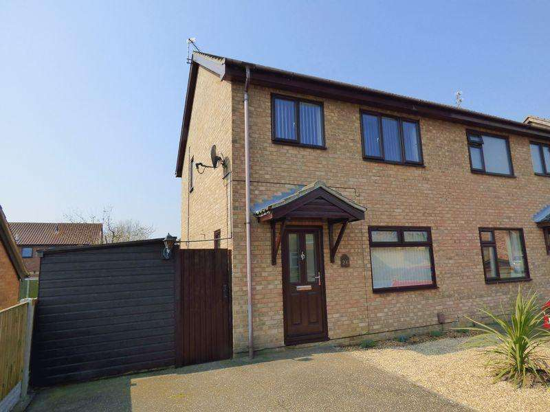 3 Bedrooms Semi Detached House for sale in Shearwater Drive, Bradwell