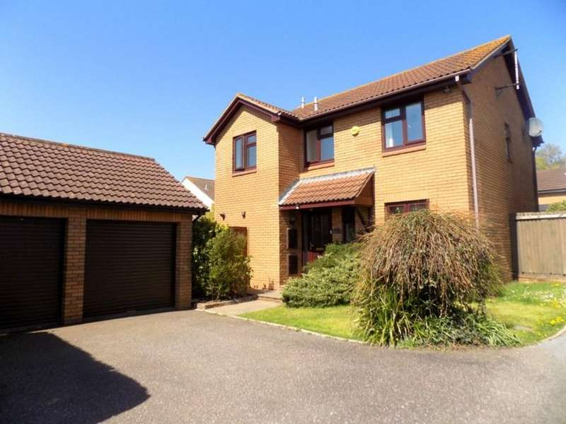 4 Bedrooms Detached House for sale in Oxford Close, Exmouth
