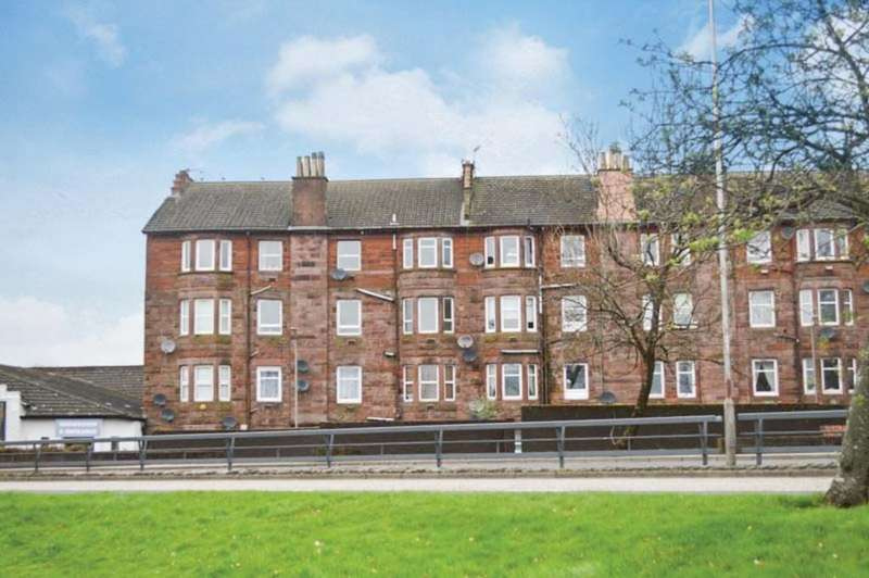 2 Bedrooms Flat for sale in Meadowbank Street, Dumbarton G82 1SD