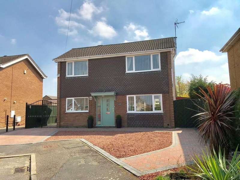 3 Bedrooms Detached House for sale in Pilgrims Way, Spalding, PE11