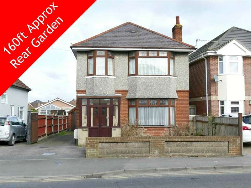3 Bedrooms Detached House for sale in Columbia Road, Bournemouth