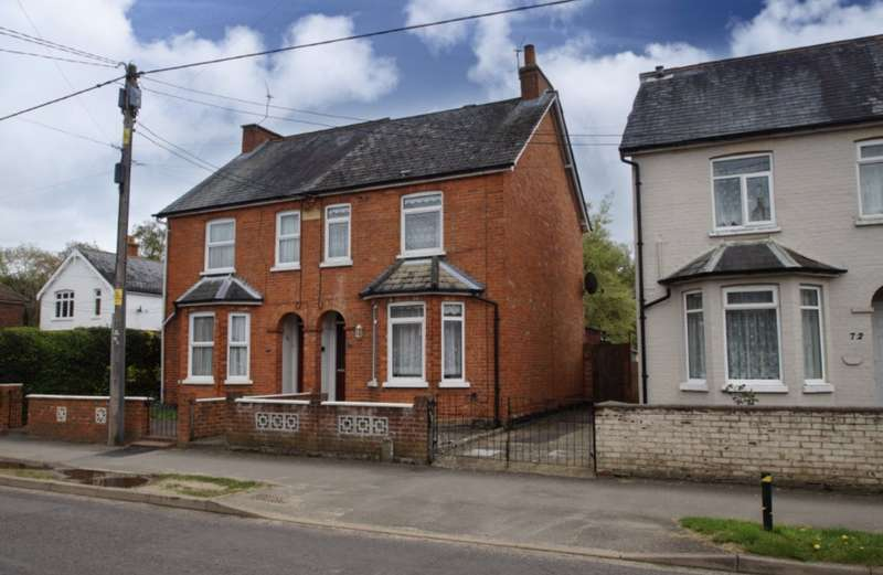 2 Bedrooms Semi Detached House for sale in College Road, College Town, Sandhurst, Berkshire, GU47