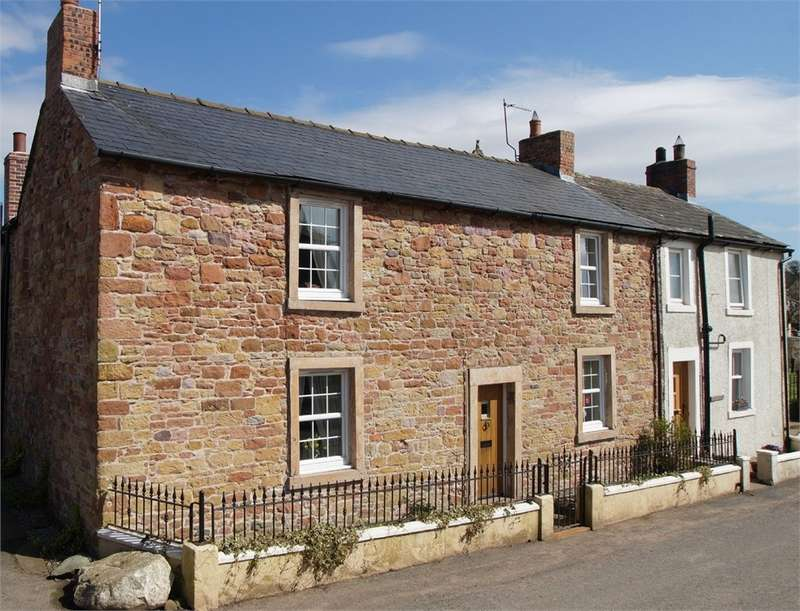 3 Bedrooms Cottage House for sale in CA7 5AF The Nook, Bowness-on-Solway, Wigton, Cumbria