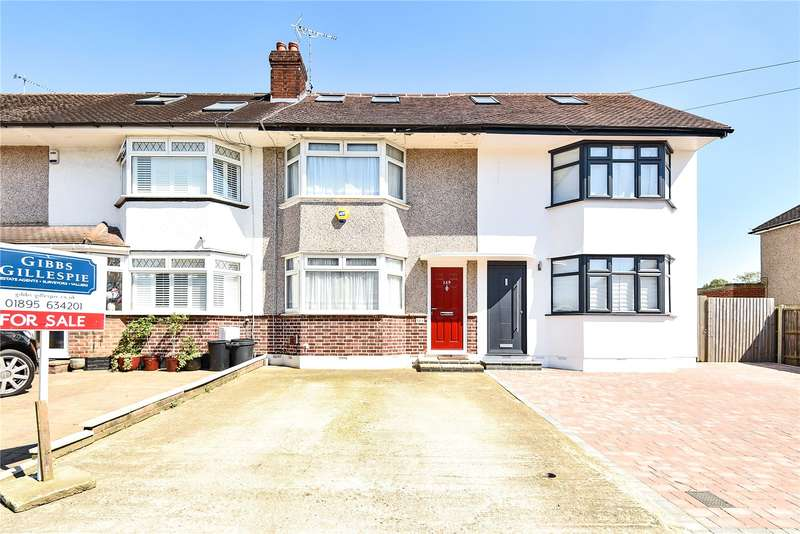 3 Bedrooms Terraced House for sale in Royal Crescent, Ruislip, Middlesex, HA4