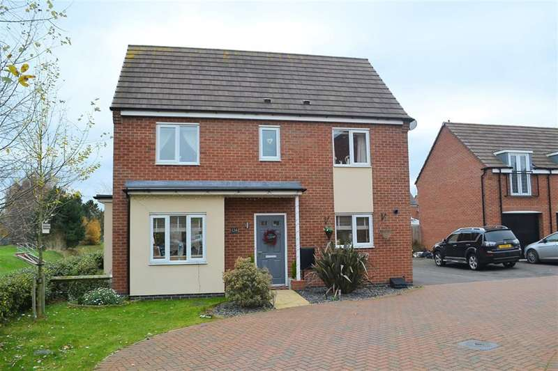 3 Bedrooms Detached House for sale in St Thomas Way, Rugeley