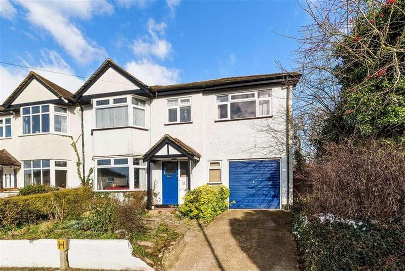 5 Bedrooms Semi Detached House for sale in Barrow Avenue, Carshalton Beeches