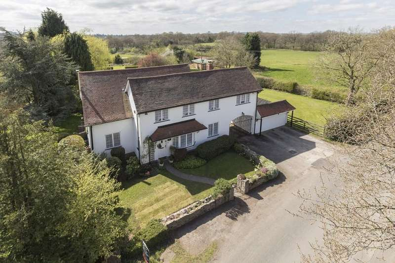 4 Bedrooms Farm House Character Property for sale in Headley Heath, Nr Wythall