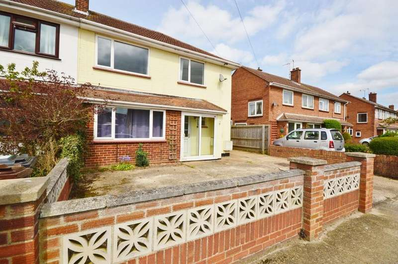 3 Bedrooms Semi Detached House for sale in Gosfield Road, Colchester