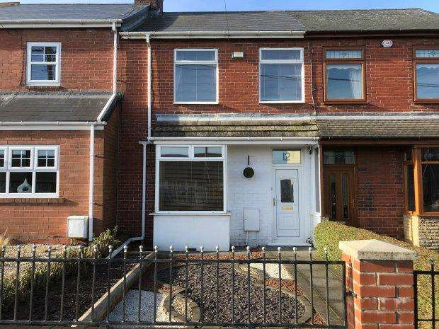 2 Bedrooms Terraced House for sale in GABLE TERRACE, WHEATLEY HILL, PETERLEE AREA VILLAGES