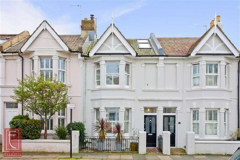 3 Bedrooms Semi Detached House for sale in Mortimer Road, Hove, East Sussex