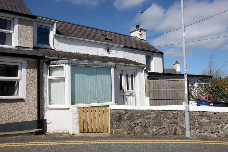 2 Bedrooms Terraced House for sale in Moelfre, Anglesey, North Wales