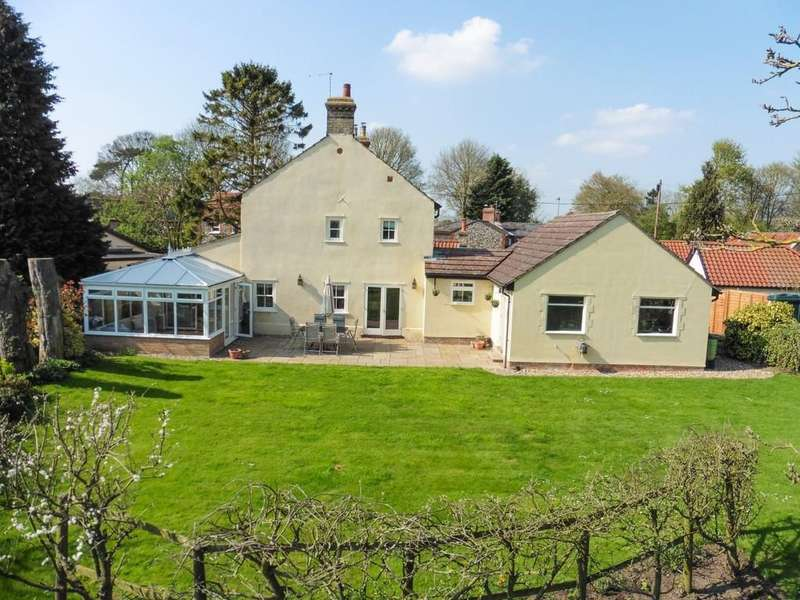 4 Bedrooms Detached House for sale in Cheveley Road, Saxon Street