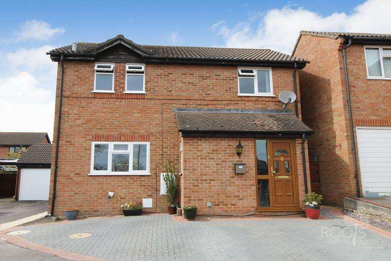 3 Bedrooms Detached House for sale in Denton Close, Thatcham