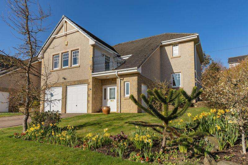 4 Bedrooms Detached House for sale in 4 Wedale View, Stow, Galashiels