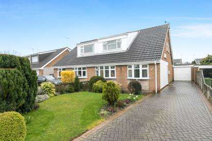 3 Bedrooms Bungalow for sale in Timberfields Road, Saughall, Chester, Cheshire, CH1