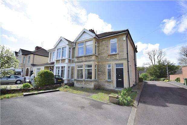 3 Bedrooms Semi Detached House for sale in Cleeve Hill, Downend, BRISTOL, BS16 6ET