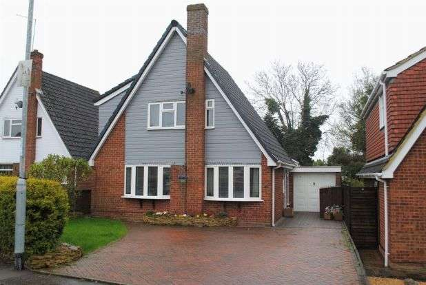 4 Bedrooms Detached House for sale in Falcutt Way, Kingsthorpe, Northampton NN2 8NR