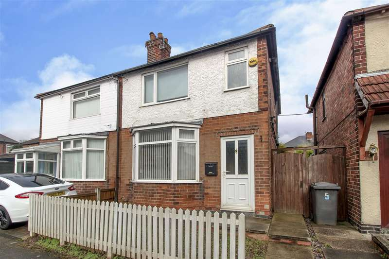2 Bedrooms House for sale in Hawthorne Avenue, Stapleford, Nottingham