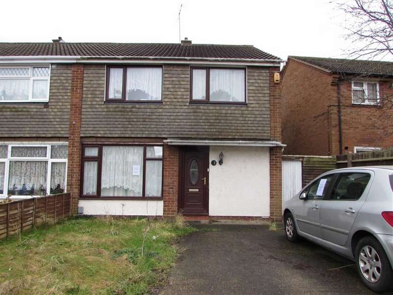 3 Bedrooms Semi Detached House for sale in Angus Close, Luton, LU4