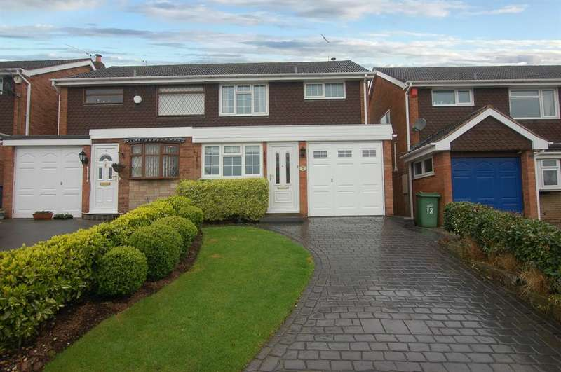 3 Bedrooms Semi Detached House for sale in Rothesay Drive, Stourbridge, DY8 5ER