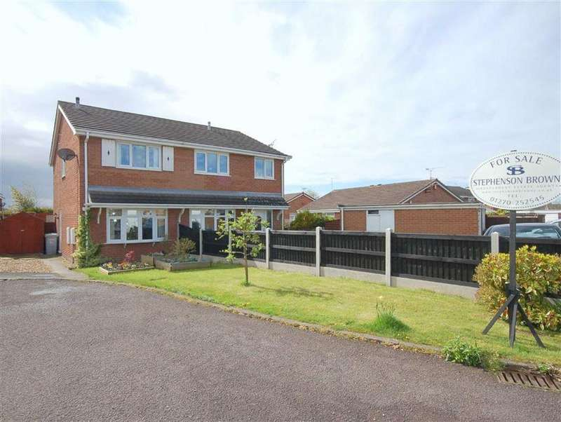 2 Bedrooms Semi Detached House for sale in Rochester Crescent, Crewe