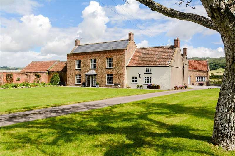 5 Bedrooms Detached House for sale in White House Lane, Loxton, Axbridge, Somerset, BS26