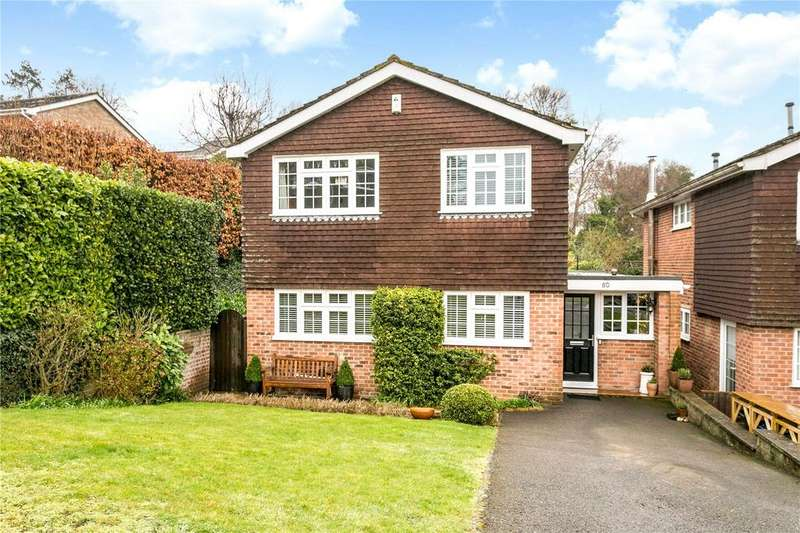 4 Bedrooms Detached House for sale in Barnards Hill, Marlow, Buckinghamshire, SL7
