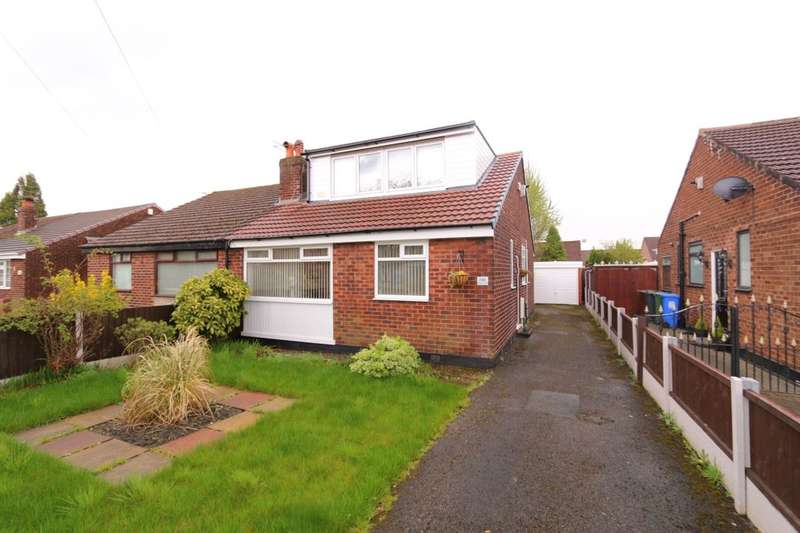 3 Bedrooms Semi Detached Bungalow for sale in Windmill Lane, Denton, Manchester, M34